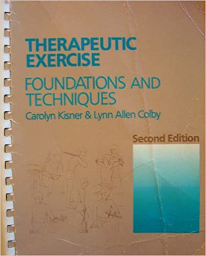 Book Therapeutic Exercise: Foundations and Techniques