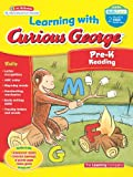 Learning with Curious George Pre-K Reading, Learning Company Books Staff, 0547790546