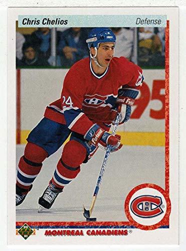Chris Chelios (Hockey Card) 1990-91 Upper Deck # 174 ()