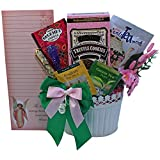Thoughts of You Tea and Stationery Gift Basket