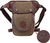 Genda 2Archer Canvas Vintage Shoulder Bag Multi-purpose Leg Bag