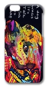 Gratitude_Pitbull Custom iphone 6 plus 5.5 inch Case Cover Polycarbonate 3D wangjiang maoyi