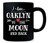 I Love Oaklyn To The Moon And Back Cool Gift - Mug