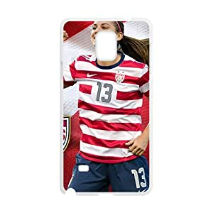 Woman player Cell Phone Case for Samsung Galaxy Note4