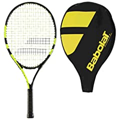 Your child will enjoy tennis more with this racquet that looks like the one Nadal plays with. A great racquet to learn and grow with