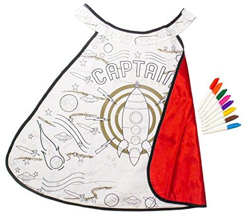 Great Pretenders Color a Cape Rocket Man