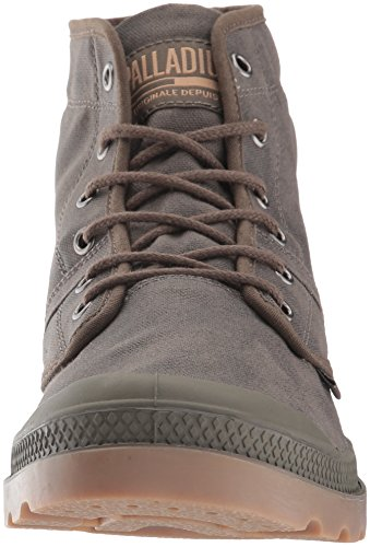 Palladium Herren Pallabrouse Wax Chukka Boot Major Braun / Mittlerer Gummi