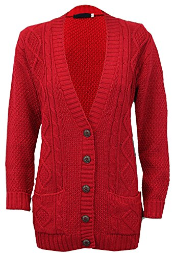 Rouge Fashion Funky Gilet Shop Rouge Femme wp884qXK