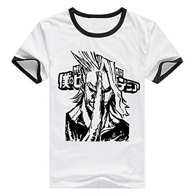 Pulle-A My Hero Academia Midoriya Izuku All Might Costume Unisex-Adult T-Shirt
