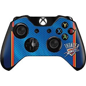 NBA Oklahoma City Thunder Xbox One Controller Skin - Oklahoma City Thunder Blue Jersey Vinyl Decal Skin For Your Xbox One Controller