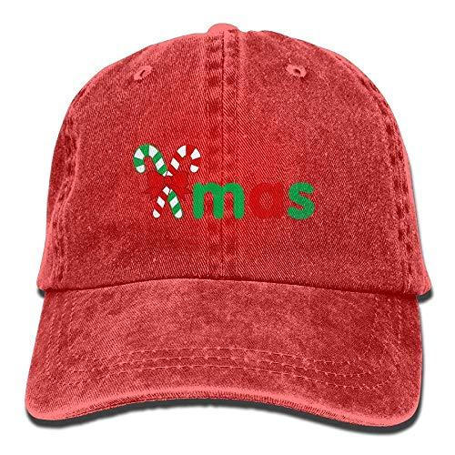 Price comparison product image Lotus network Holiday Xmas Borders Adult Baseball Cap Dyed Washed Cotton Denim Hat