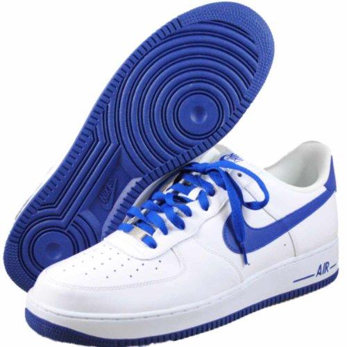 Nike Air Force 1 Låga Man Basket Skor 488298-114 Vita 14 M Oss