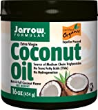 Coconut Oil 100% Organic, Extra Virgin 454 gms by Jarrow Formulas