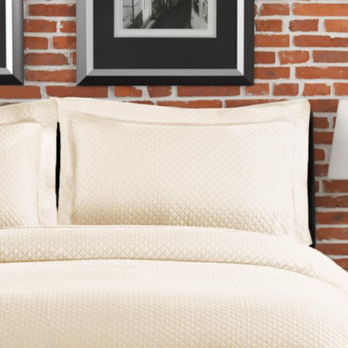 - LaMont Home Diamante Collection - 100% Cotton Matelassé Sham