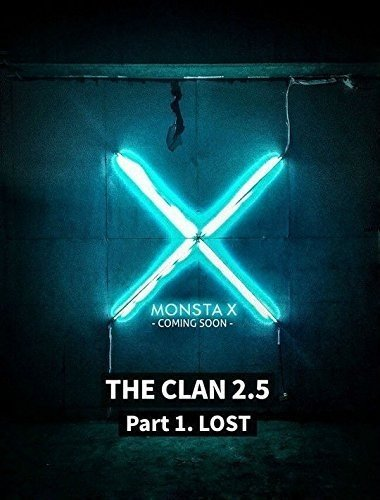 CD : Monsta X - Clan 2.5 Part 1. Lost (Lost Version) (Asia - Import)