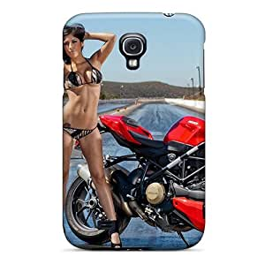 New Arrival Cover Case With Nice Design For Galaxy S4- Ducati Streetfighter