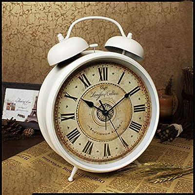 Despertador para dormitorio Bell del gemelo relojes de alarma for ...