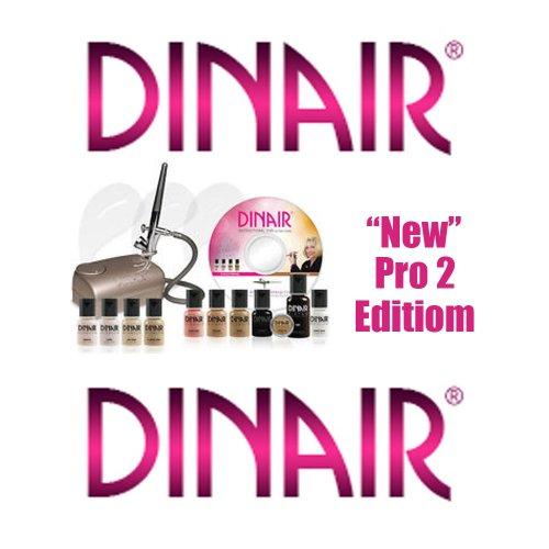 Airbrush makeup kit dinair