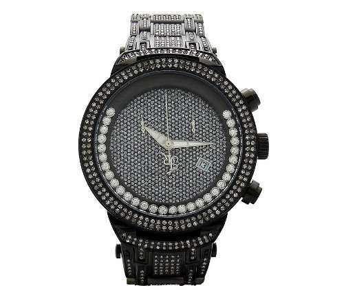 Joe Rodeo MASTER JJMS24(W) Diamond Watch - Chronograph Diamond Bracelet