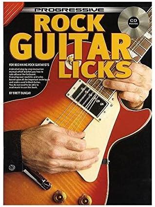 Progressive: Rock Guitar Licks (Book/CD). Partituras, CD para ...