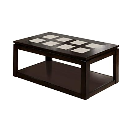 Amazoncom Furniture Of America Cm4484c Verona Coffee Tables