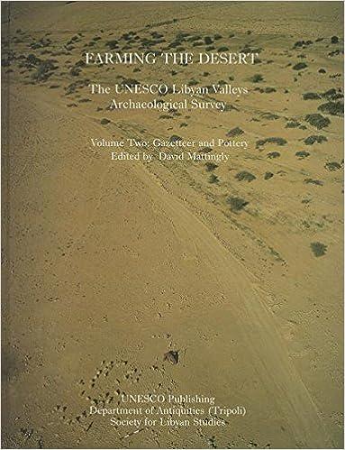 Amazon com: Farming the Desert: The UNESCO Libyan Valleys