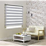 Custom Cut to Size , [Winsharp Blackout Amante] Roller Blackout Fabric Shade Horizontal Window Blinds & Treatments , White , W 47 x H 64 (Inch) , 92 Inch Wide by 72 Inch Long