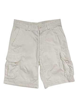 4a2ebb0cd Polo Ralph Lauren Mens Twill Flap Pockets Cargo Shorts White 30