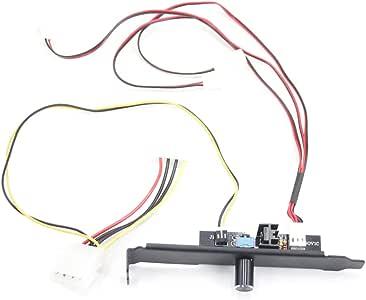 Controlador Velocidad del Ventilador Luz indicadora la computadora ...