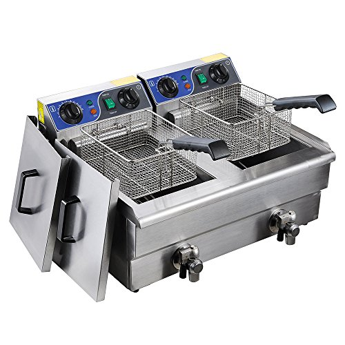 Commercial Electric Fryer Stainless French