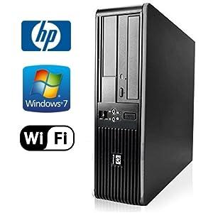 HP DC7800 SFF Desktop - Intel Core 2 Duo 3.0GHz - NEW 1TB HDD - 8GB RAM - Windows 7 Pro 64-bit - WiFi - DVD-RW (Prepared by ReCircuit)