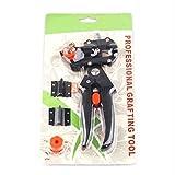 USA Premium Store Professional Garden Fruit Tree Pruning Shears Grafting Cutting Tools + 2 Blades