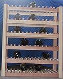 Cheap Redwood Wine Rack 60 Bottle