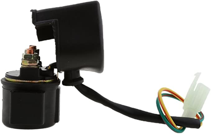 MonkeyJack Car Starter Solenoid Relay for Yamaha XS-360 XS400 XS-400R Maxim Heritage XS-500