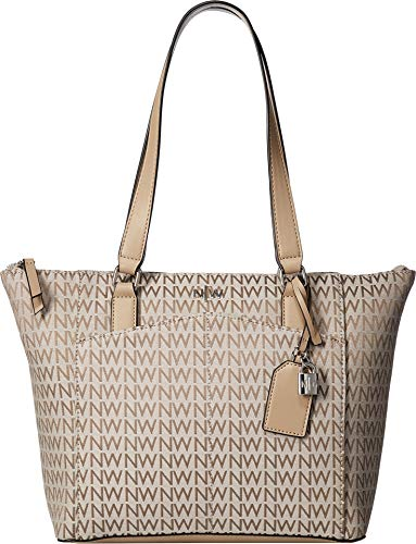 Nine West Womens Atwell Tote Nude/Nude One Size