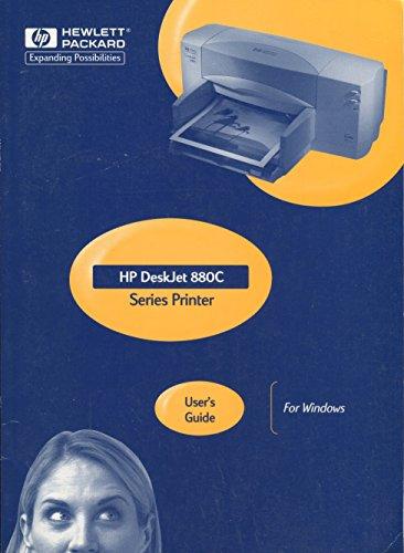 The HP DeskJet 880C Series Printer User's Guide for Windows