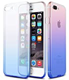 DORRON iPhone 8Plus (Blue Gradient) Soft Silicon Transparent Protective Back Case Cover For Apple iPhone 8 Plus (Blue Gradient)