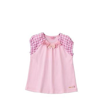 f828c2170b59d ミキハウス ホットビスケッツ (MIKIHOUSE HOT BISCUITS) Tシャツ 72-5206-619 90cm ピンク