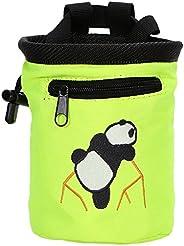 AMC Rock Climbing Panda Bear Bag w/ Drawstring Closure and Belt