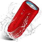 EDUPLINK Bluetooth Wireless Speaker Hand Free Bluetooth Portable Home Party Speaker with Party Lights IPX7 Water Proof Portab