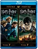 Harry Potter Double Feature: The Deathly Hallows Part 1 & 2 [Blu-ray]