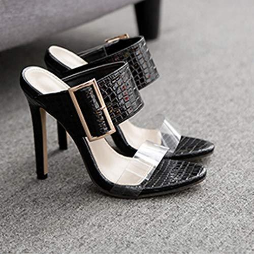 A Tacco Tacchi Spillo E Da Donna Alto Con 37 Spillo Sandali Selling Sandali Pantofole Alto 51wEqvEf