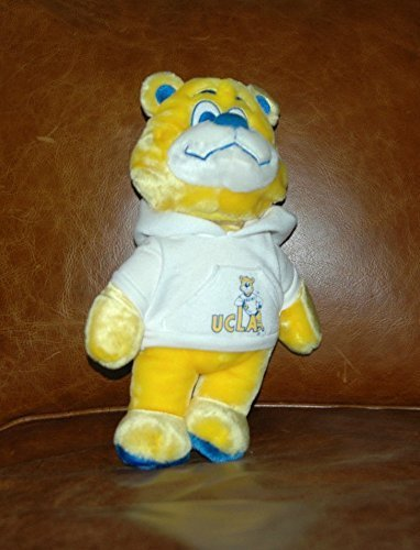 UCLA Bruins Plush retro Joe ? Stuffed Teddy Bear 13? (2? In 1 mascot & Bear) (Ucla Teddy Bear)