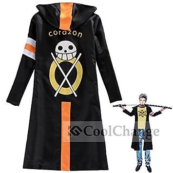 De Law En Piece Corazon Longue One Trafalgar Coolchange Dress Veste Tq7wE