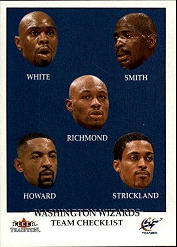Howard Rod - 2000-01 Fleer #292 Jahidi White Mike Smith Mitch Richmond Juwan Howard Rod Strickland - NM-MT+