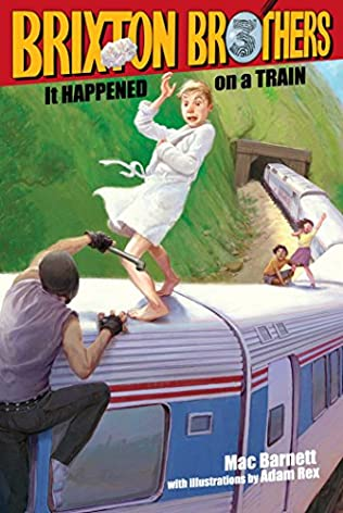 book cover of It Happened on a Train!