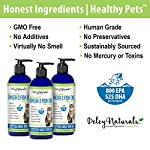 Wild Caught Fish Oil for Cats - Omega 3-6-9, GMO Free - Reduces Shedding, Supports Skin, Coat, Joints, Heart, Brain, Immune System - Highest EPA & DHA Potency - Only Ingredient is Fish - 16 oz 12