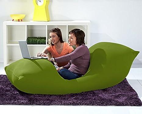 Fabulous Yogibo Bean Bag 6 Green Uwap Interior Chair Design Uwaporg