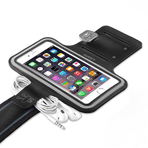 AUKEY iPhone 7 Sports Armband with Key Slots, W...