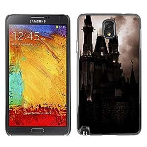 TopCaseStore / la caja del caucho duro de la cubierta de protección de la piel - Spooky Night Dracula Vampire - Samsung Galaxy Note 3 N9000 N9002 N9005